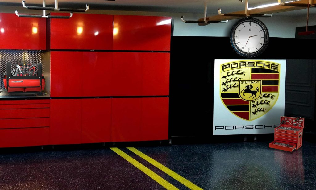 Deco theme moto pour passionn s de moto horloge jaz dans for Deplacer sa moto dans un garage