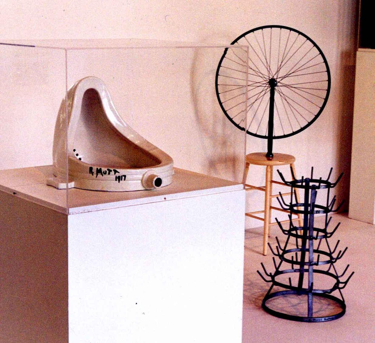 Objet deco insolite urinoir Marcel Duchamp