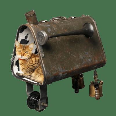 Accessoires chat design insolite écologique Réservoir 1940