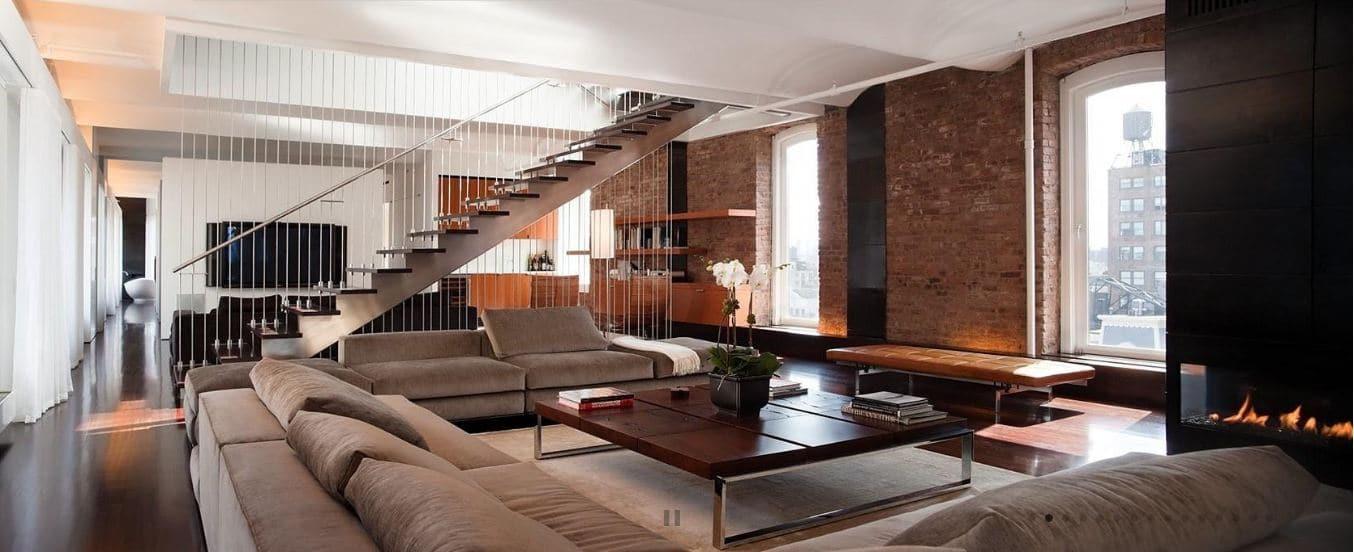 Ancien entreport à New York transformé en spacieux loft