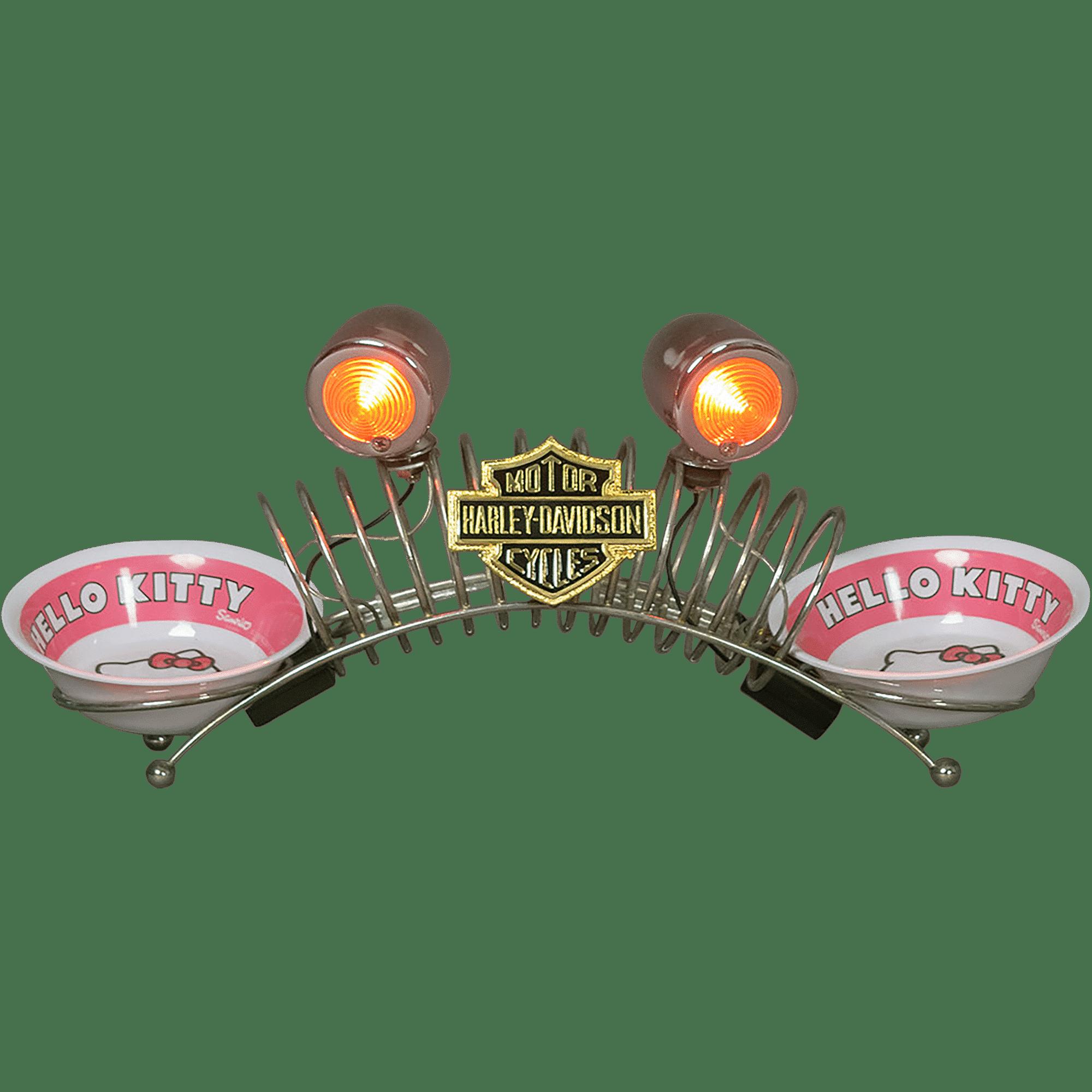 Object decoration Harley Davidson for animals