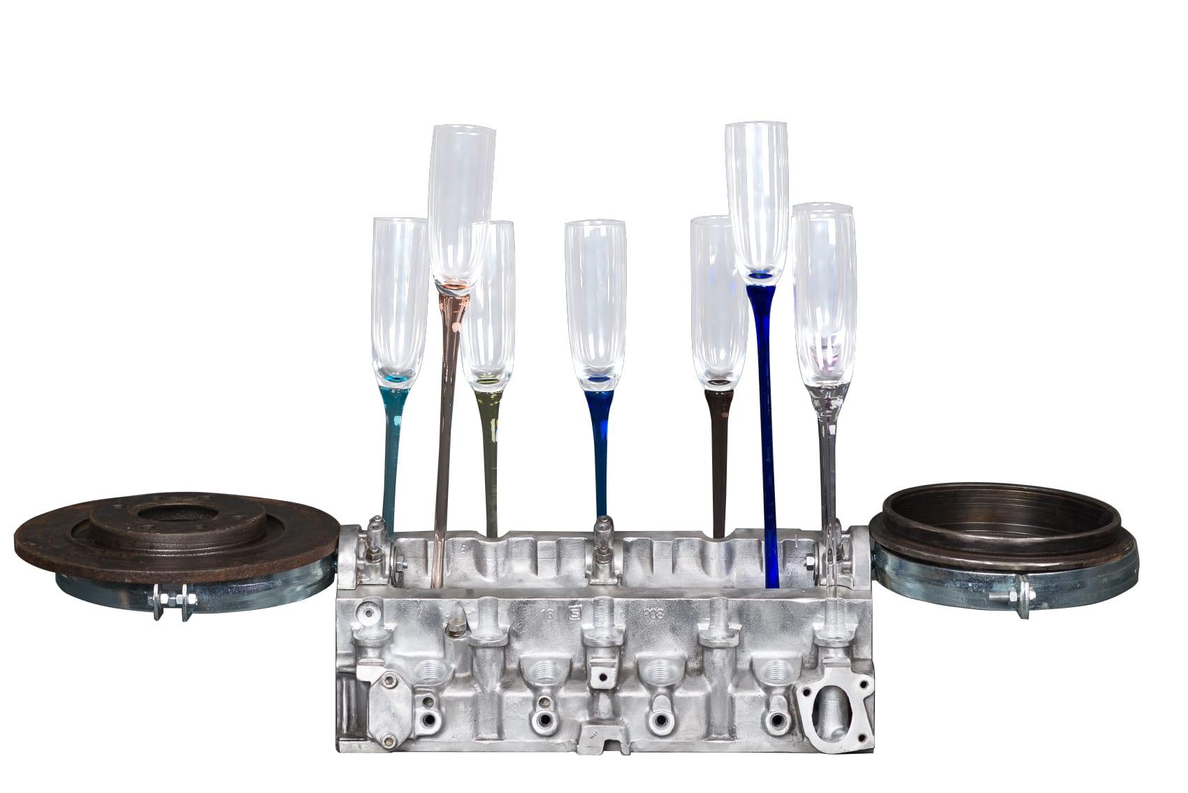 cadeau luxe homme art de table bar champagne deco garage. Black Bedroom Furniture Sets. Home Design Ideas