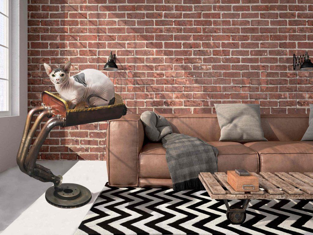 arbre a chat de luxe mobilier haut de gamme pour animaux. Black Bedroom Furniture Sets. Home Design Ideas