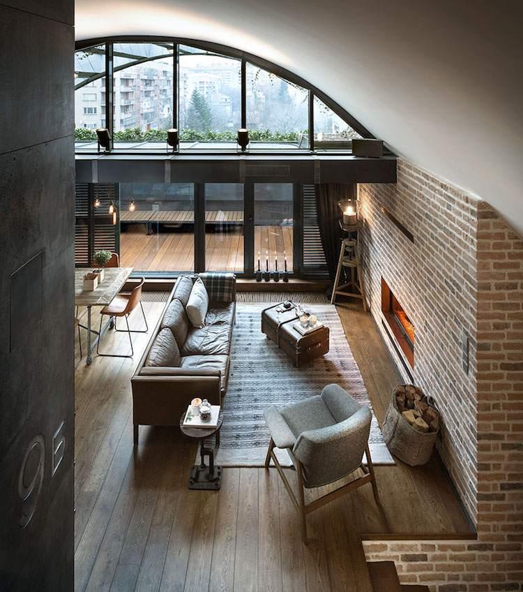 Deco loft New Yorkais