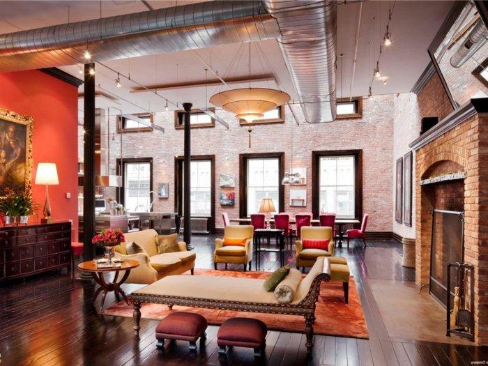 decoration new york loft furniture with garage