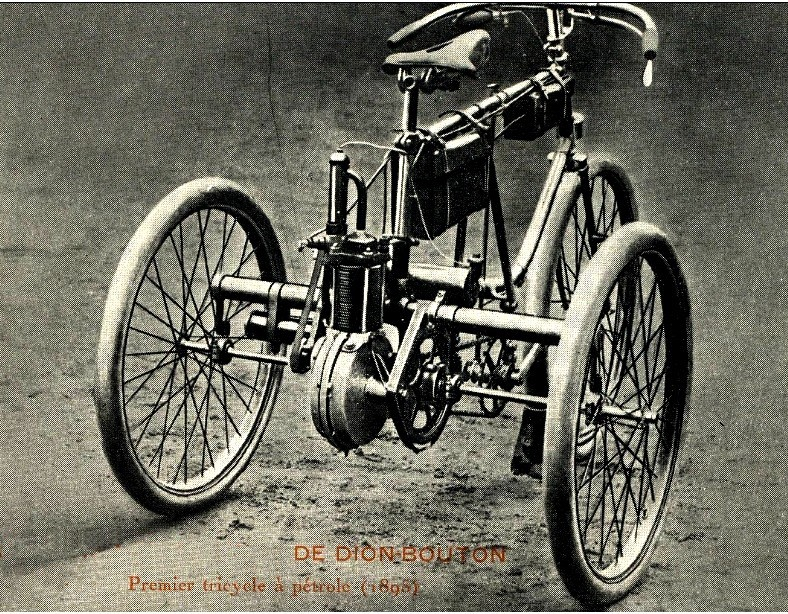 Tricycle De Dion Bouton 1895