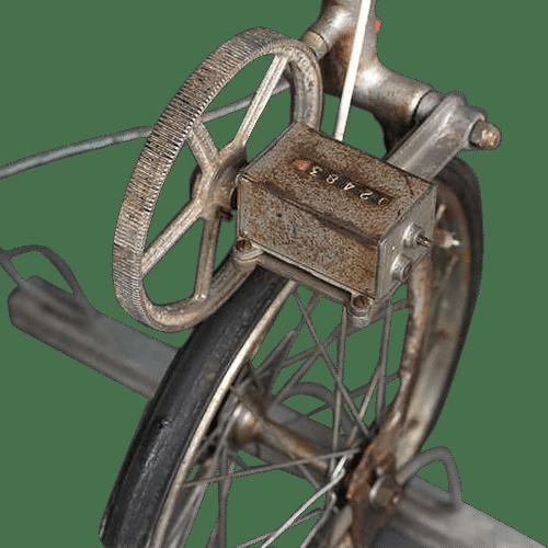 Vélo d'arpenteur loft New Yorkais deco