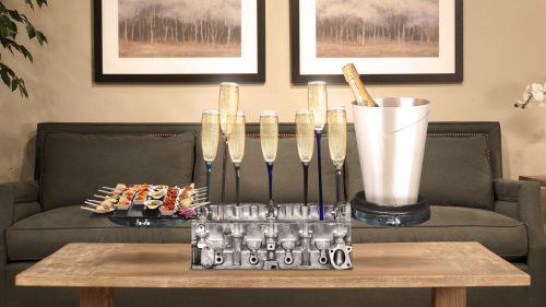 Idée cadeau luxe homme, culasse bar