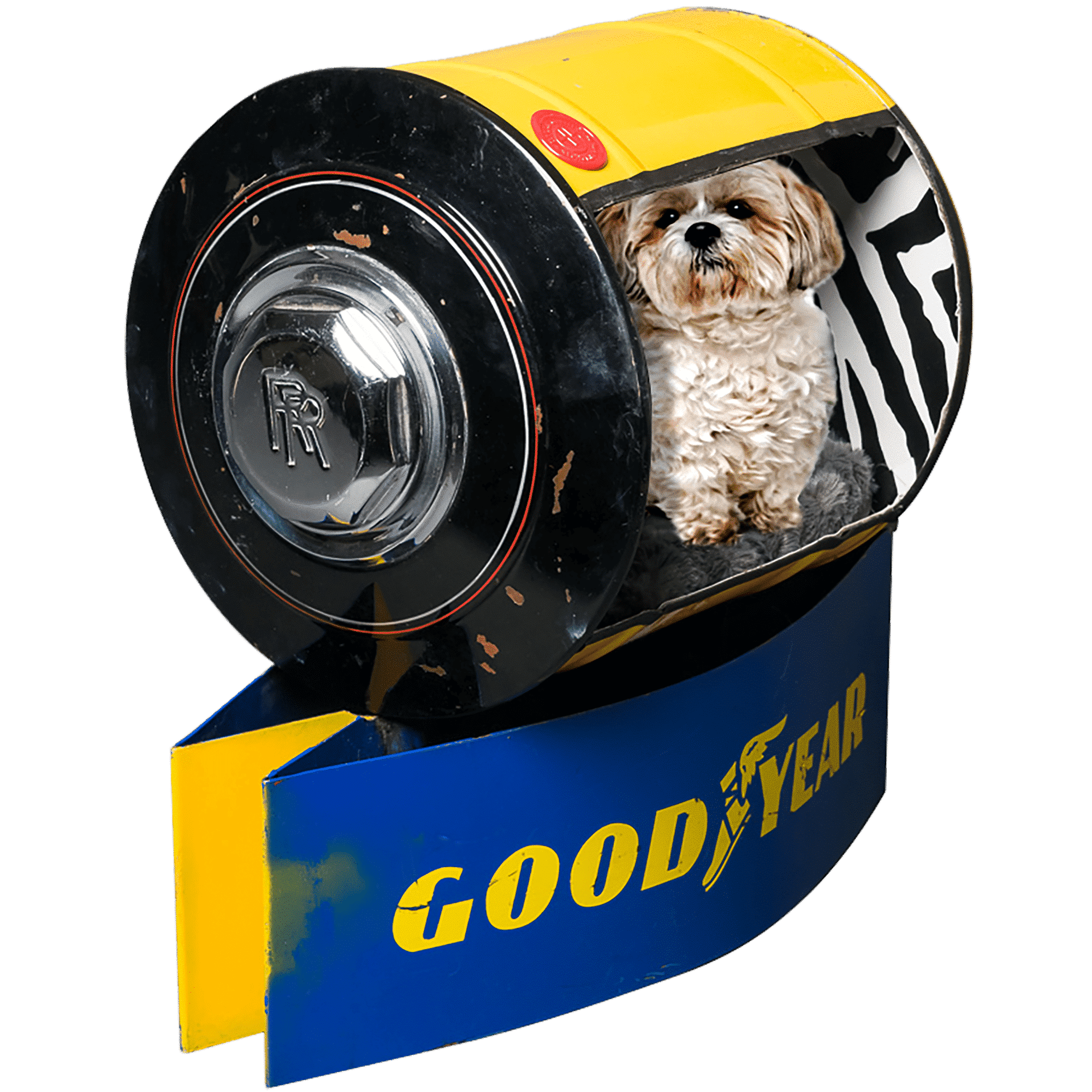 Decoration garage parts Rolls Royce / Goodyear Pets