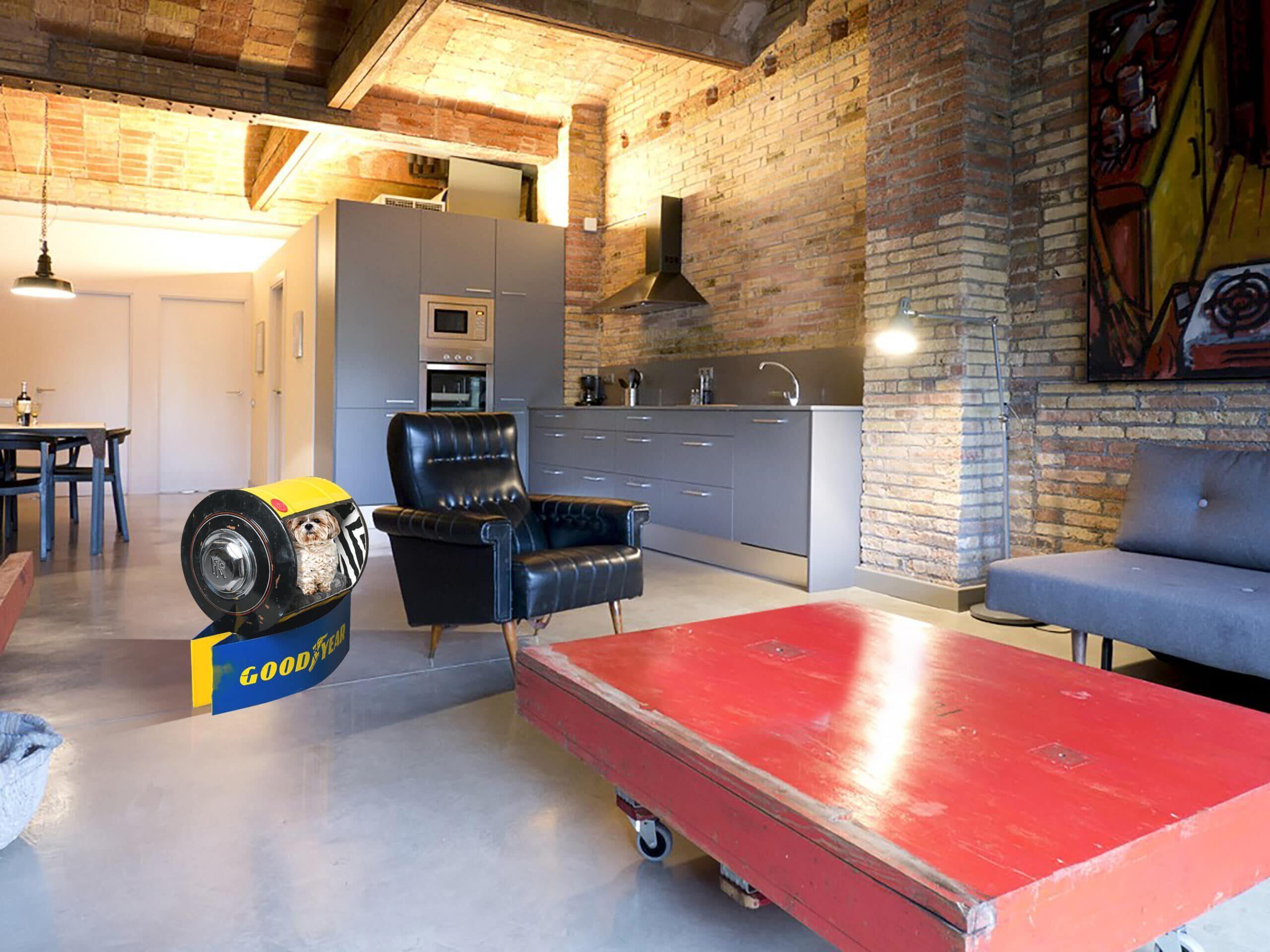 Decoration garage parts Rolls Royce / Goodyear Pets