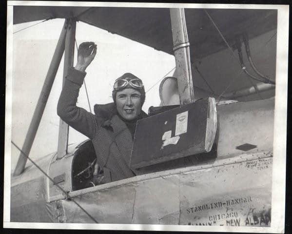 1931 Mildred Bruce vol en solitaire