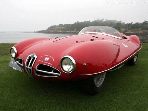 Alfa Romeo C52 Disco Volante Spider 1952 Daniela DAUDE Artiste Création de mobilier avec pièces auto Bourses auto BRAS D'ASSE Vide grenier,Bourse, Expo,Rallye,Élection des 2 plus belles autos