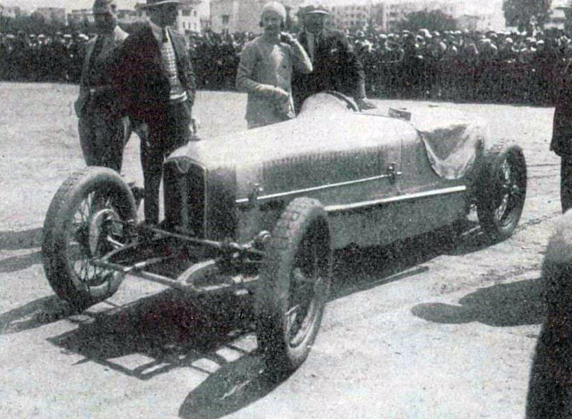 1930Anne-Cécile Rose-Itier,6ème du GP du Maroc sur Rally.