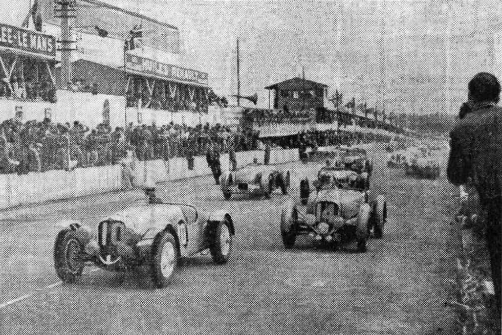 Départ_des_24_heures_du_Mans_1937