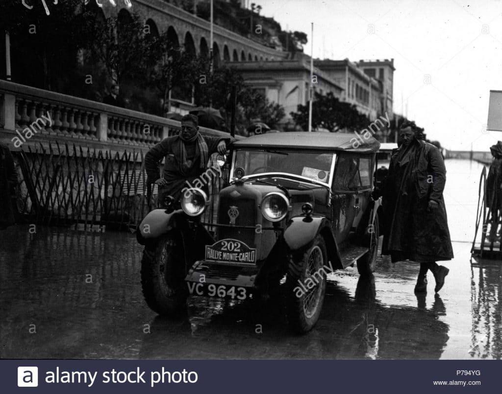 Rallye automobile de Monte-Carlo, Riley sur Riley.