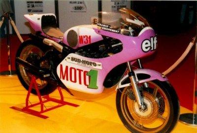 Yamaha 500 première moto de Coluche