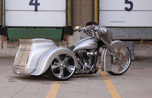 Rassemblement motos et trikes à St Savin de Blaye : Grâce à l'agenda de l'Atelier du Loft, retrouvez tous les Salons et événements auto moto. moto Bagger Nation Big Wheel Fender