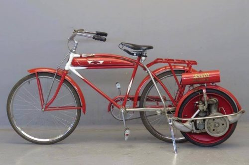 vélo Smith roues motrices pour bicyclettes 1915 Bourse auto moto La Souterraine (23) Grâce à l'agenda de l'Atelier du Loft, retrouvez tous les événements auto moto pour organiser vos week-ends et vacancesBourse