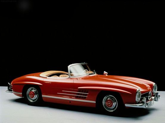 60 printemps pour l'icône Mercedes-Benz 300 SL Roadster