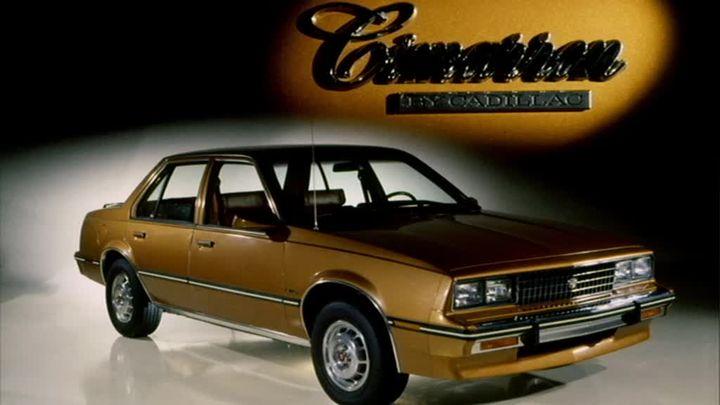 Cadillac Cimarron-1982