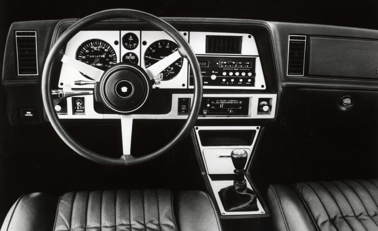 Cadillac Cimarron habitacle 1982