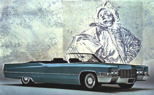 Cadillac DeVille Convertible 1969