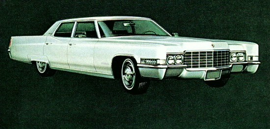 Cadillac Deville Fleetwood Brougham 1969