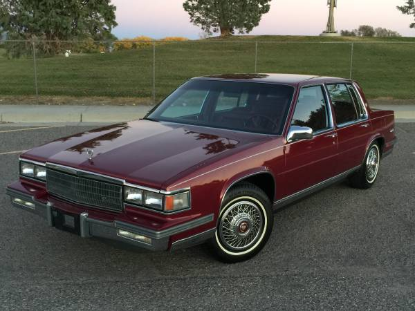 Cadillac Deville Sedan 1986