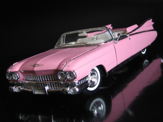 Cadillac Eldorato 1959 PINK