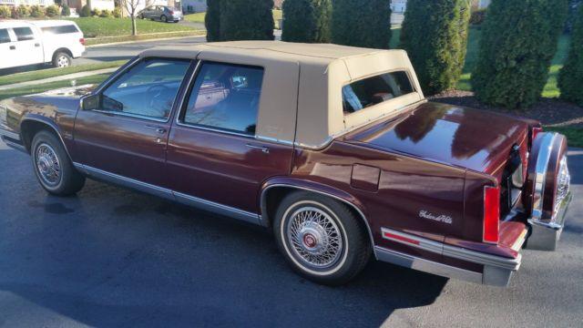 Cadillac Sedan Deville 1987