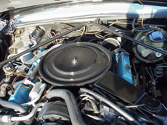 Cadillac moteur V8 de 1985