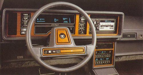 Cadillac Western Saddle Firemist 1979