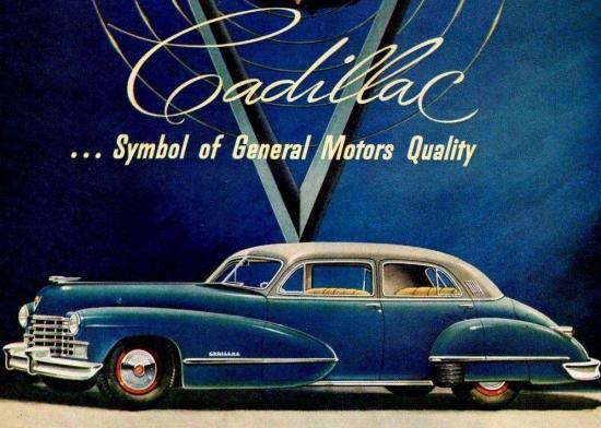 Cadillac après guerre série 60s 1946