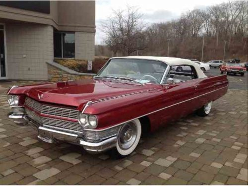 Cadillac coupe deville 1964