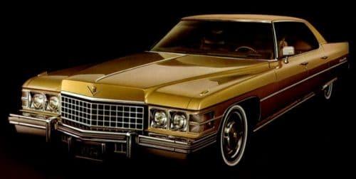Cadillac hardtop Sedan Deville 1974