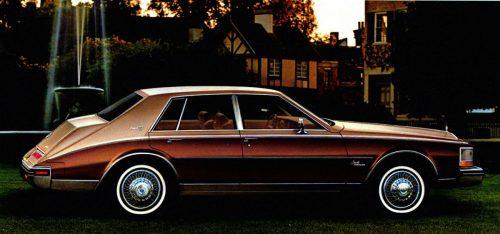 Cadillac seville élegante 1980