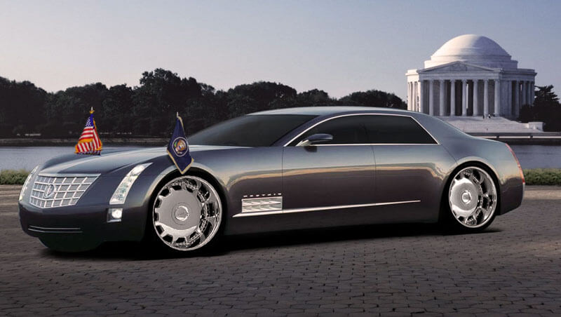 Cadillac sixteen luxe 2003