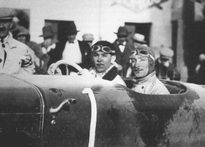 DUBONNET André HISPANO-SUIZA H6C N° 1 SG 8.0 TARGA FLORIO 27 Avril 1924