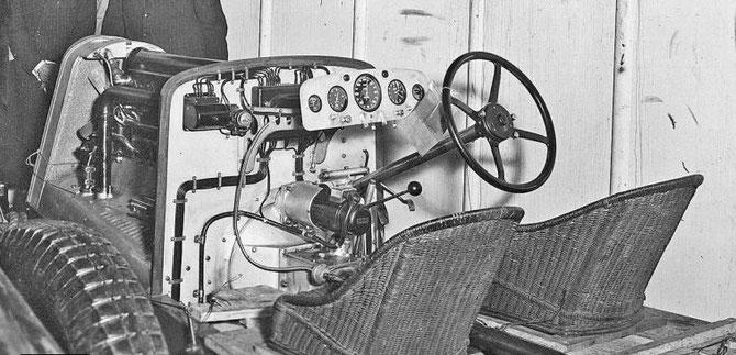 Hispano Suiza le châssis qui équipe le système Dubonet
