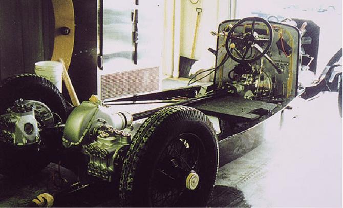 Hispano-Suiza châssis H6C acheté en 1932 au salon de l'auto par André Dubonnet