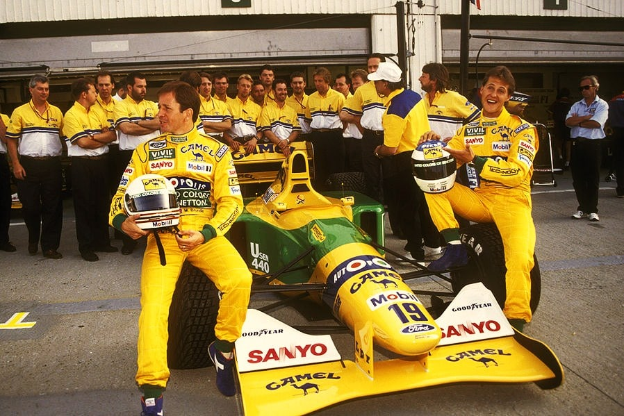 Michael Sxhumacher Benetton F1 B192