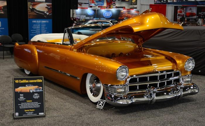 1949 Cadillac convertible