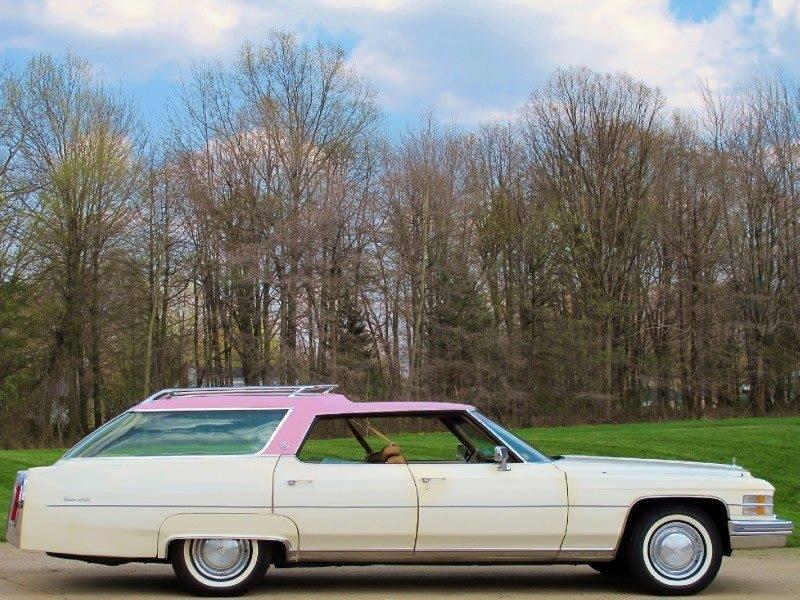 Cadillac Sedan Break 1974 d'Elvis Presley