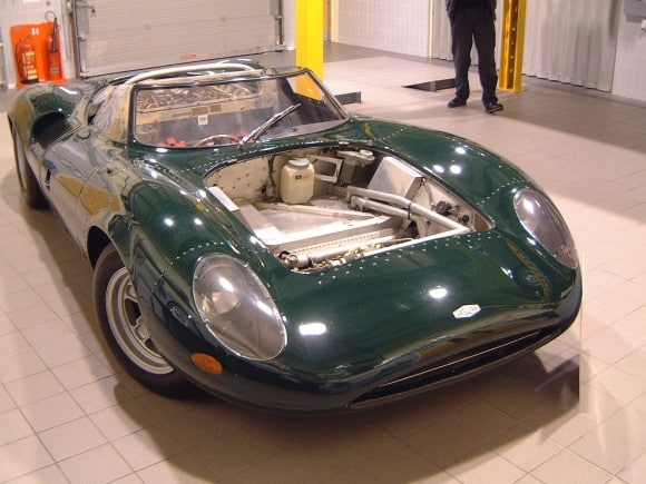 Restauration de la Jaguar XJ13