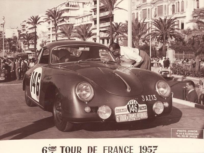 Porsche 356 6ème tour de France