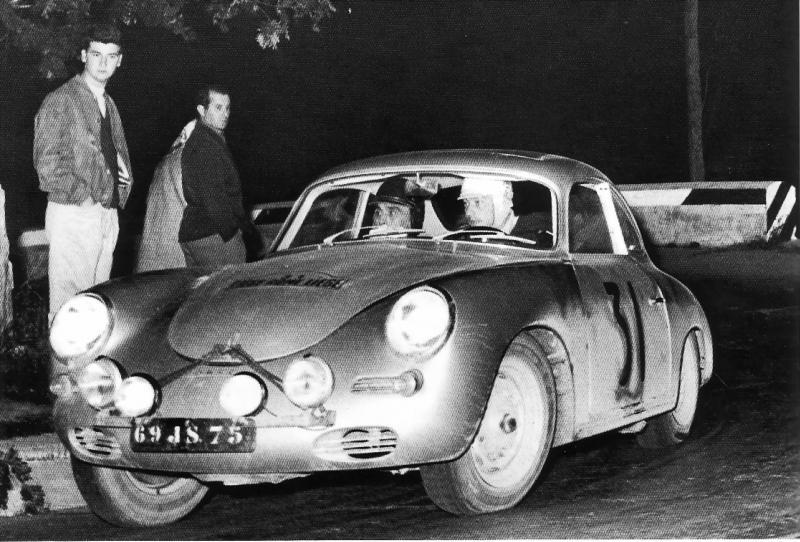Porsche 356 Liège Rome 1959