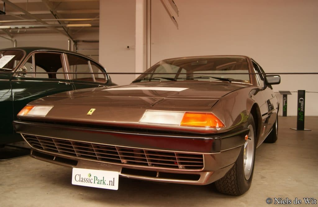 Ferrari 400 GT 1976 Autobrocante Festival de Loheac 1er weekend d'octobre
