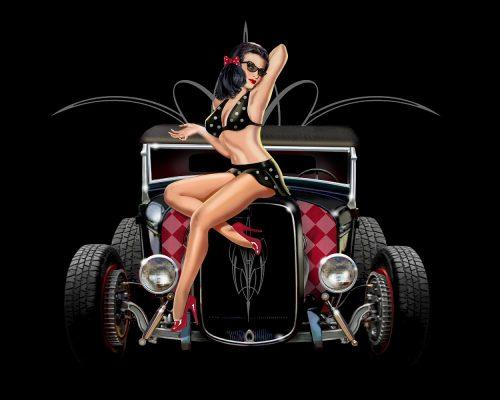 Agenda événements auto moto Daniela DAUDE artiste, mobilier avec pièces auto. Hot Rod US Cars Meeting - Vintage LIBRAMONT. Salon Vintage Concerts Rockabilly