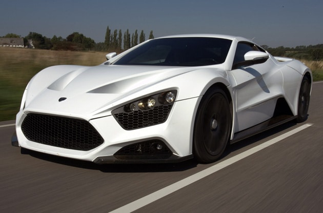 Zenvo ST Salon de l'automobile Lyon