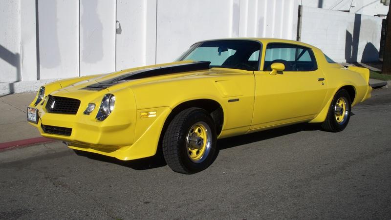 79 Chevy Camaro Mensuel Voitures Américaines Pont-Réan